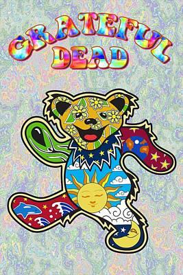 Grateful Dead Art Print