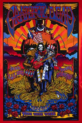 Grateful Deads Soldier Field Chicago Art Print