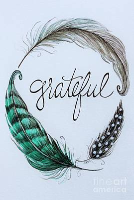 Painting - Grateful by Elizabeth Robinette Tyndall