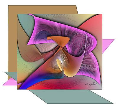 Digital Art - Grateful by Iris Gelbart