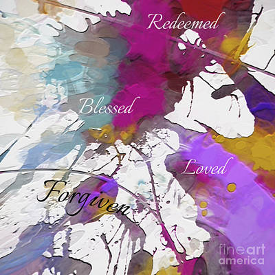 Digital Art - Grateful To Be by Margie Chapman