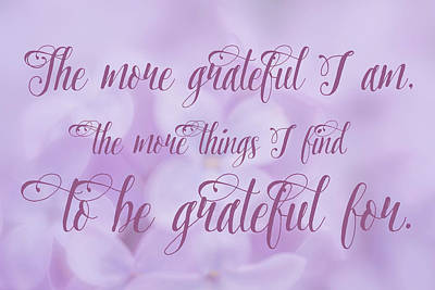 Digital Art - Gratitude by Ramona Murdock