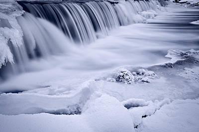Graue Mills Falls Print by Steve Gadomski