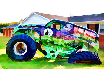 Grave Digger 2 Art Print by Lanjee Chee