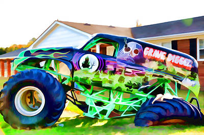 Grave Digger 4 Art Print by Lanjee Chee