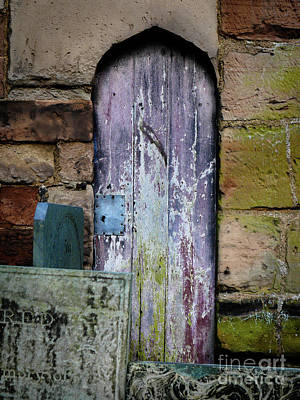 Photograph - Grave Door Appleby Magna by Lexa Harpell