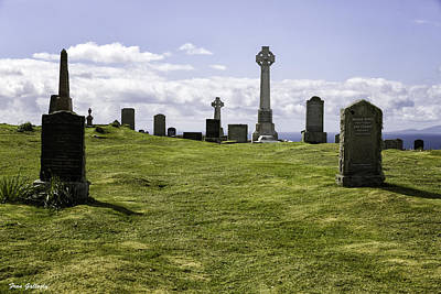 Photograph - Grave Of Flora Macdonald by Fran Gallogly