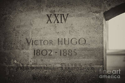 Photograph - Grave Of Victor Hugo by Patricia Hofmeester