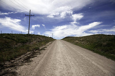 Photograph - Gravel Road by Scott Sanders