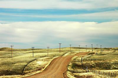 Gravel Road Photograph - Gravel Road by Todd Klassy