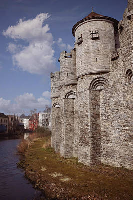 Photograph - Gravensteen Ghent by Carol Japp