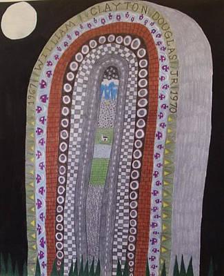 Gravestone 7 Art Print
