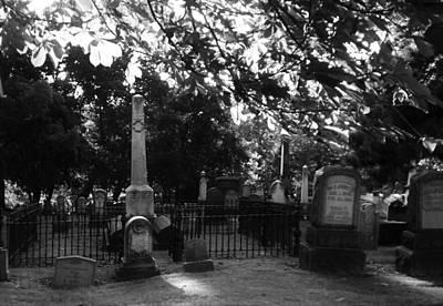 Graveyard 2 Art Print