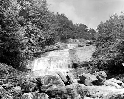 Photograph - Graveyard Fields Falls by William Wetmore