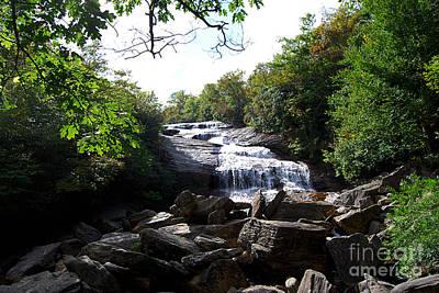 Photograph - Graveyard Fields Waterfall 20130913_169 by Tina Hopkins