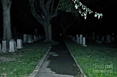 Photograph - Graveyard Get-a-way  by Brynn Ditsche