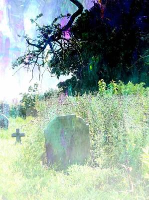 Photograph - Graveyard Impressions by Dorothy Berry-Lound