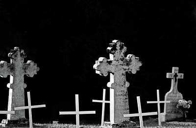 Photograph - Graveyard Where They All Rest by Brian Sereda