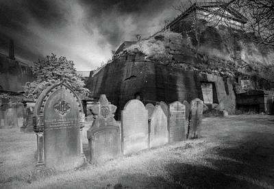 Photograph - Graveyard,liverpool by Marty Garland