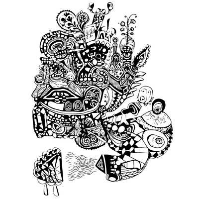 Graviola I Art Print by Crab Apple