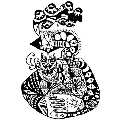 Graviola Iv Art Print by Crab Apple