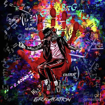 Digital Art -  Gravitation. by Andrzej Szczerski