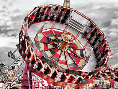 Photograph - Gravitron by Greg Sharpe