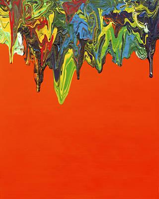 Lemon Drops Painting - Gravity 14 by Antonio Wehrli