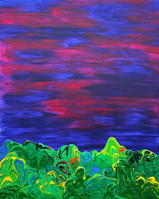 Lemon Drops Painting - Gravity 27 by Antonio Wehrli