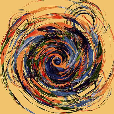 Digital Art - Gravity In Color by Deborah Smith