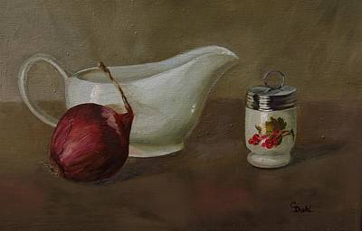 Painting - Gravy Boat by Grace Diehl