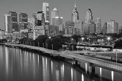 Photograph - Gray And White Philadelphia by Frozen in Time Fine Art Photography