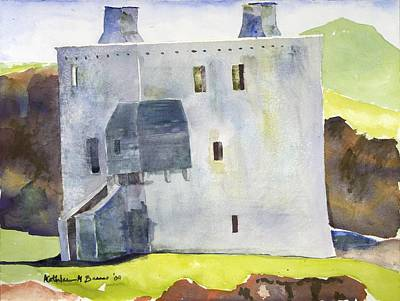 Painting - Gray Castle by Kathleen Barnes