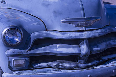 Gray Chevrolet Art Print by Garry Gay
