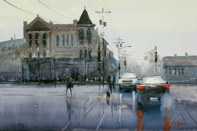 Painting - Gray Day In Oshkosh by Ryan Radke
