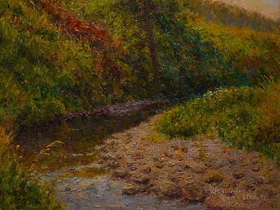 Painting - Gray Day Plein Air by Terry Perham