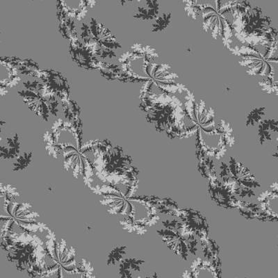 Gray Diagonally Striped Pattern Art Print
