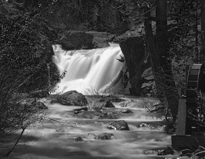 Gray Eagle Falls Art Print