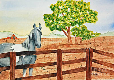 Painting - Gray Mare by Terri Mills