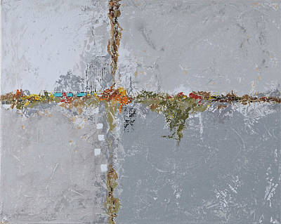 Painting - Gray Matters 10 by Jim Benest