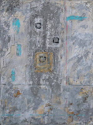 Painting - Gray Matters 11 by Jim Benest