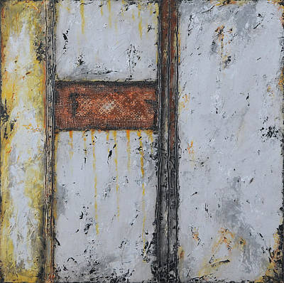 Painting - Gray Matters 12 by Jim Benest