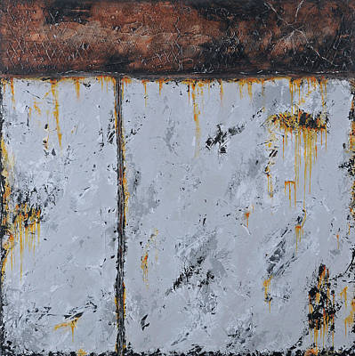 Painting - Gray Matters 14 by Jim Benest