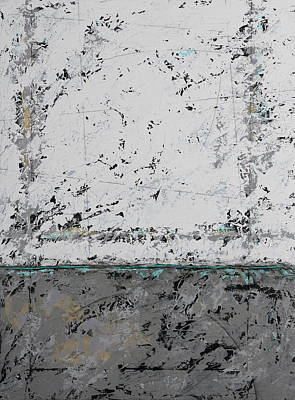 Painting - Gray Matters 3 by Jim Benest