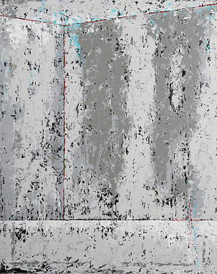 Painting - Gray Matters 4 by Jim Benest