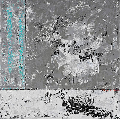 Painting - Gray Matters 5 by Jim Benest