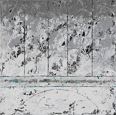 Painting - Gray Matters 6 by Jim Benest