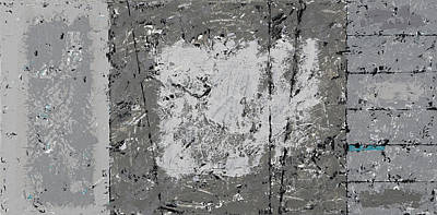 Painting - Gray Matters 7 by Jim Benest