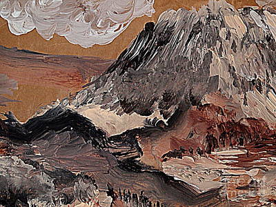 Painting - Gray Mountain by Nancy Kane Chapman