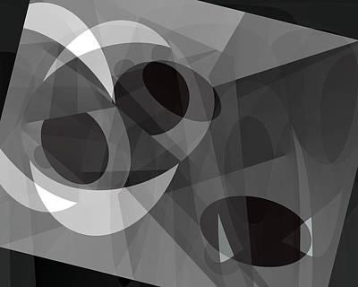 Gray On Gray Art Print by Lynda Lehmann